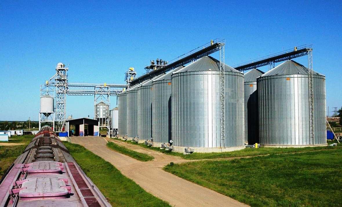 элеватор зерновой фото